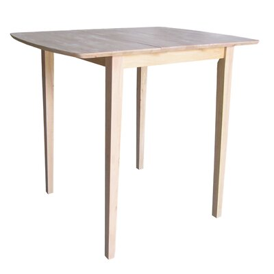 International Concepts Unfinished Butterfly Extension Table