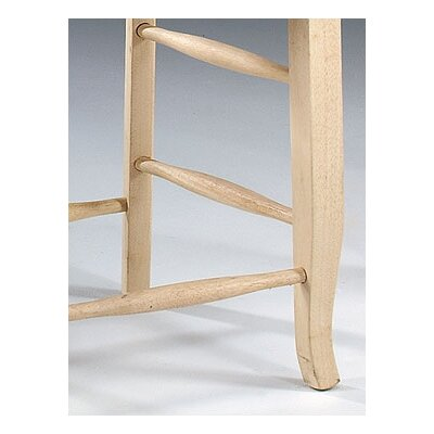 "International Concepts 24"" Double ""X"" Stool"