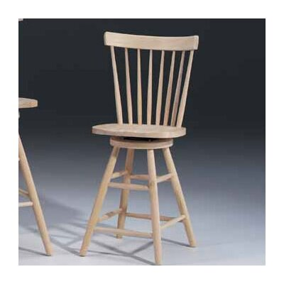 "International Concepts 24"" Copenhagen Swivel Stool"