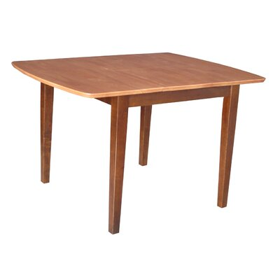 Radius Edge Shaker Expandable Dining Table