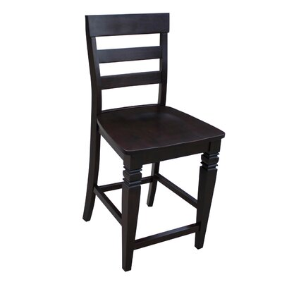 International Concepts Java Ladderback Stool