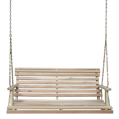 Porch Swing with Chain