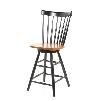 "International Concepts Madison Park 24"" Swivel Bar Stool"