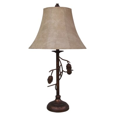 Fangio Lighting Pinecone Table Lamp