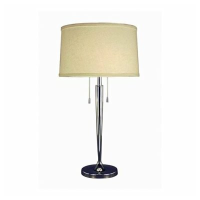 """Fangio Lighting Zhenni 29"""" H Table Lamp with Drum Shade"""