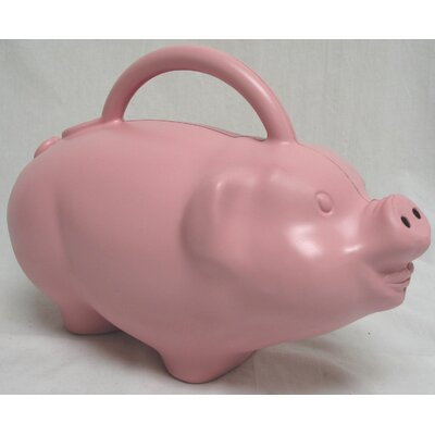 Novelty Pig Watering Can in Pink