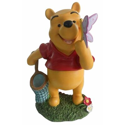 Woods International Disney Winnie-The-Pooh with Butterfly Friend Statue