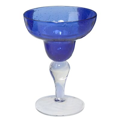 Artland Iris Margarita Glass in Cobalt Blue (Set of 4)