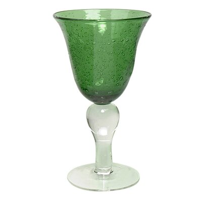 Iris Goblet in Green (Set of 4)