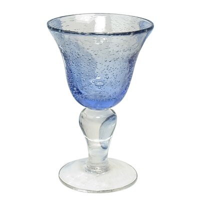 Iris Wine Glass in Light Blue (Set of 4)