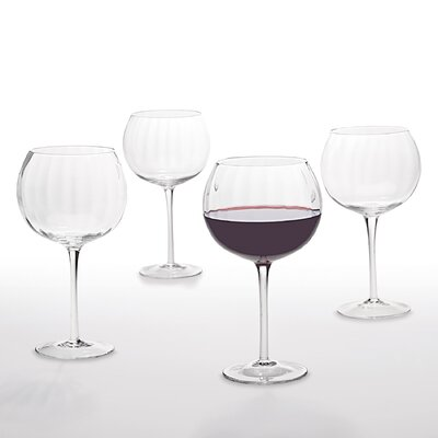 Artland Optic 20 Oz Balloon Glass (Set of 4)