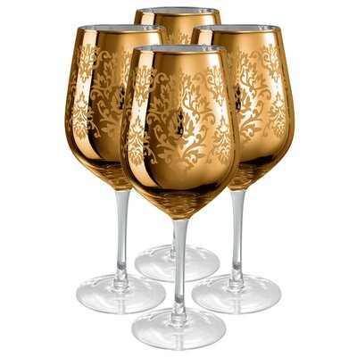 Artland Brocade Goblet in Gold