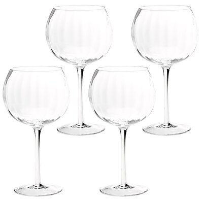 Optic Balloon Iced Beverage Glass (Set of 4)