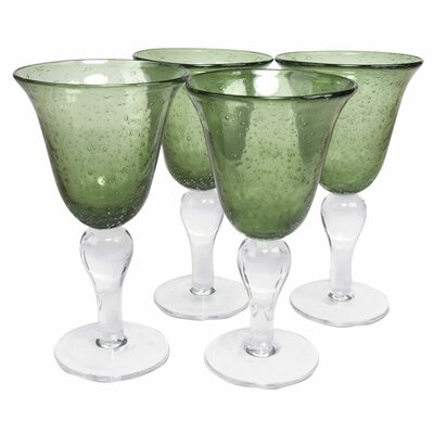 Artland Iris Goblet in Sage (Set of 4)