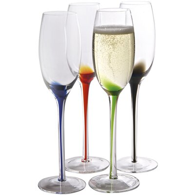 Artland Splash Flute Glass (Set of 4)