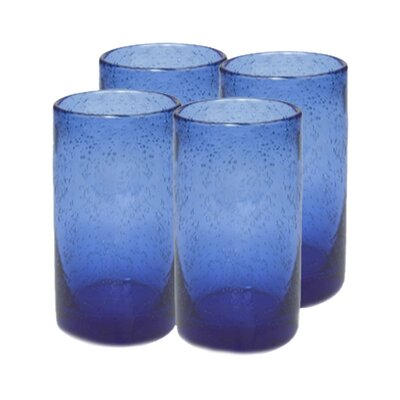 Artland Iris Highball Glass in Cobalt Blue