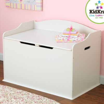 Austin Toy Box in White