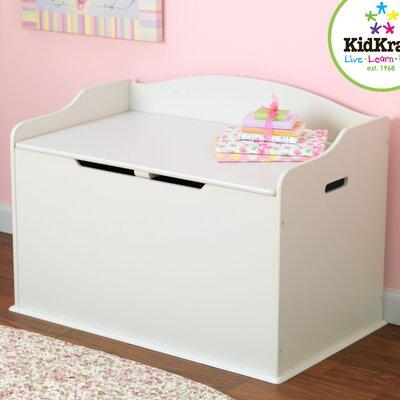 KidKraft Austin Toy Box in White