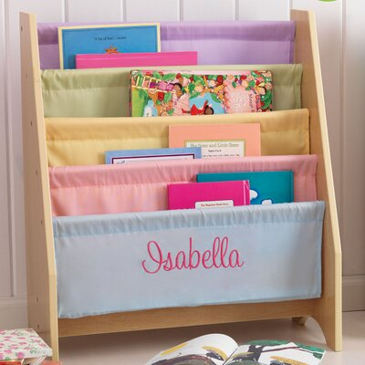 "KidKraft Personalized Pastel Sling 28"" Book Display"