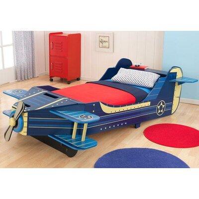 KidKraft Airplane Convertible Toddler Bed