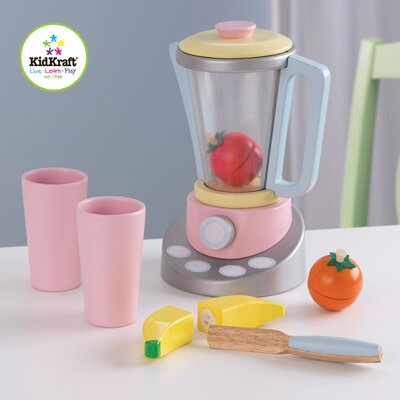 KidKraft 9 Piece Pastel Smoothie Set