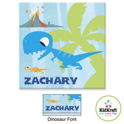 KidKraft Personalized Dinosaur Canvas