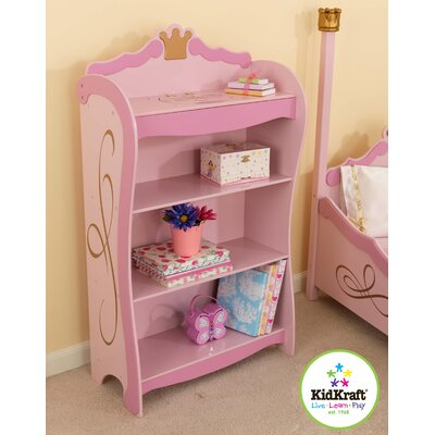 "KidKraft Princess 42.5"" Bookcase"
