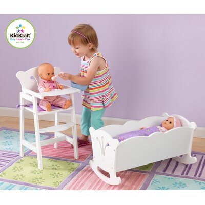 KidKraft Personalized Doll Cradle Doll Furniture