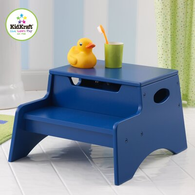 KidKraft Step N' Store Stool in Blue