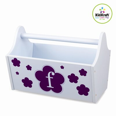 KidKraft Personalized Toy Box Caddy in Sky