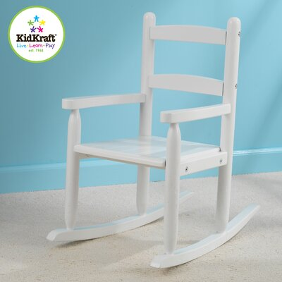 KidKraft Kid's 2-Slat Rocking Chair