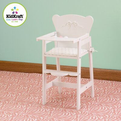 KidKraft Tiffany Bow Lil Doll High Chair