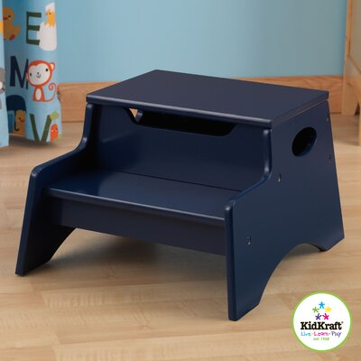 Step 'N Store Stool in Blueberry