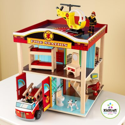 KidKraft Fire Station Set