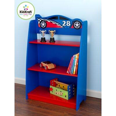 """KidKraft Racecar 35.75"""" Bookcase"""