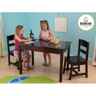 KidKraft Kids 3 Piece Table and Chair Set
