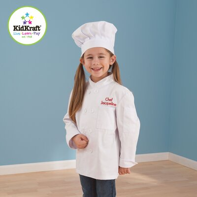 KidKraft Chef Jacket and Hat Set