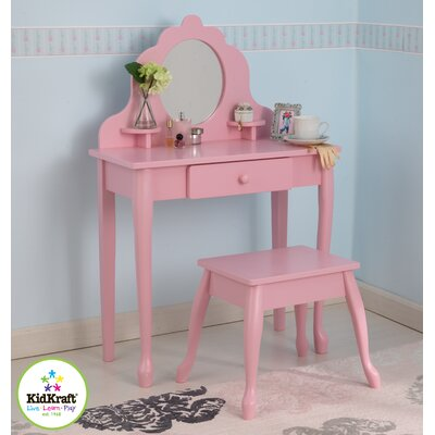 KidKraft Medium Diva Table and Stool