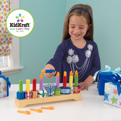 KidKraft Children's Menorah