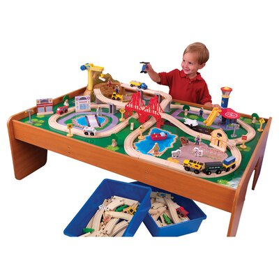 Amazing Kidkraft Ride Around Town Train Set With Table Images - Best ...
