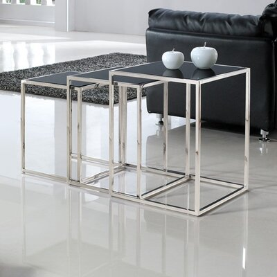 Armen Living Quadra Nesting Tables