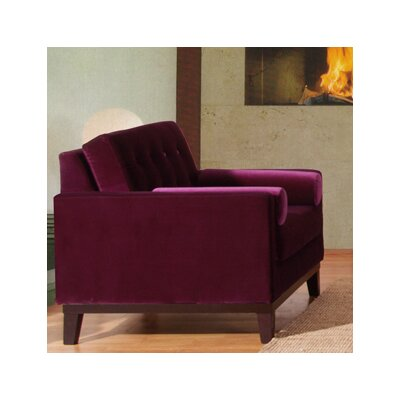 Armen Living Centennial Velvet Chair