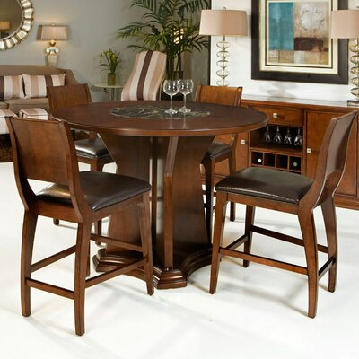 Armen Living Ashton Counter-Height Dining Table