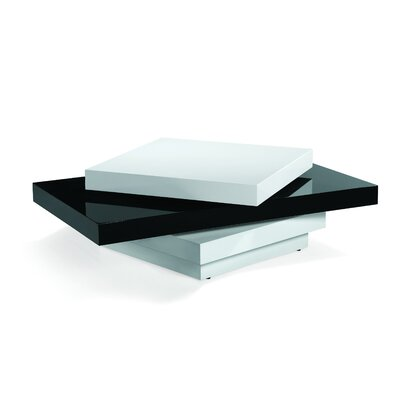 Armen Living Swivel Mika Coffee Table