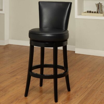 Armen Living Boston Swivel Barstool
