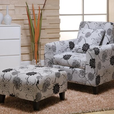 Marietta Chair and Ottoman