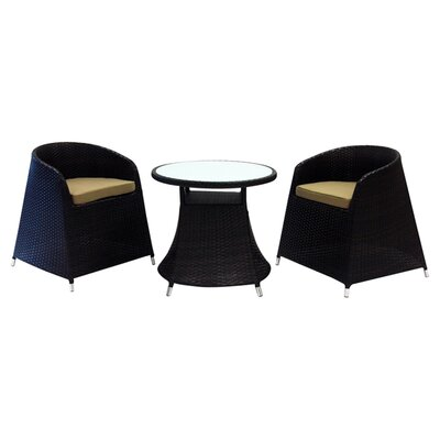 Maui 3 Piece Dining Set