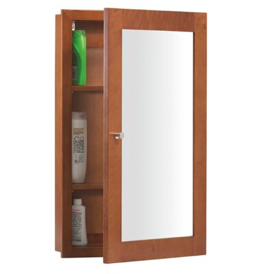 "Ronbow Neo Classic Modular 32.44"" H x 24.44"" W Surface Mount Cinnamon Medicine Cabinet"