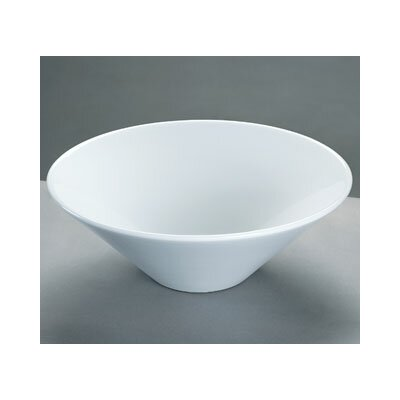 Ronbow Round Ceramic Vessel Bathroom Sink without Overflow