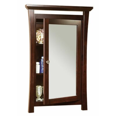 """Ronbow Pacific Rim 25"""" x 38.56"""" Surface Mount Medicine Cabinet"""